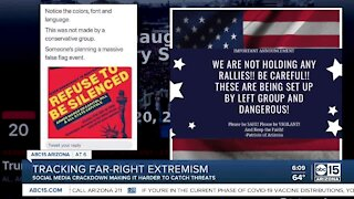 Tracking far-right extremism following social media crackdown