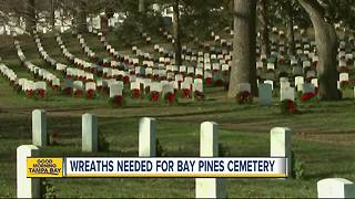 Christmas wreaths needed for Bay Pines National Cemetery - Video