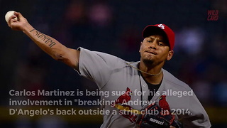 Carlos Martinez Accused Of Breaking Man's Back Outside Strip Club - Video