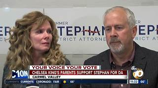 Chelsea King's family voices support for Summer Stephan - Video