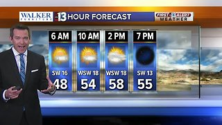 13 First Alert Las Vegas weather updated March 8 morning - Video