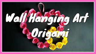 Wall Hanging Art | Origami