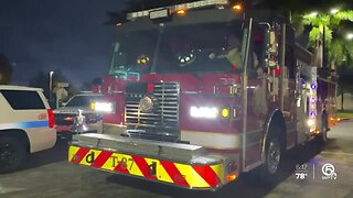Riviera Beach Fire Rescue shows appreciation for workers
