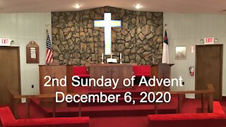2nd Sunday of Advent Worship - December 6, 2020