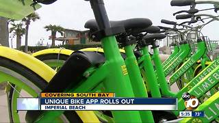 Unique bike app rolls out in Imperial Beach