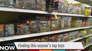 Finding the season's hottest toys proves to be a struggle - Video