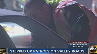 Officials ramping up patrol for drunk drivers on NYE - Video