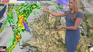 Rain moves in, wet roads for the morning - Video