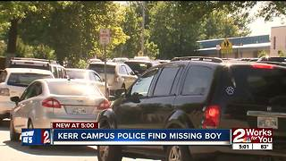 Tulsa student found safe after wandering off campus