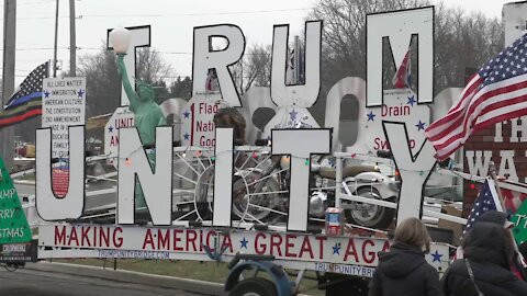 March For Trump Bus Tour in Sandusky, OH