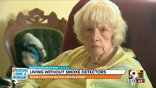 Houston, I Have a Problem: Living without smoke detectors