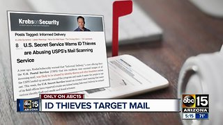 ID thieves target mail