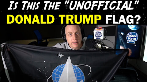 "IS THIS THE ""UNOFFICIAL"" DONALD TRUMP FLAG?"
