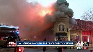 KC struggling with fire department overtime - Video