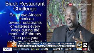 Black Restaurant Challenge stirs up awareness in Baltimore - Video