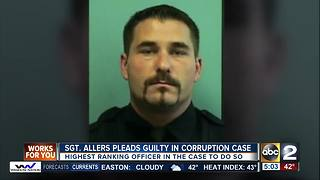 Fifth Baltimore Police officer pleads guilty in gun task force racketeering case - Video