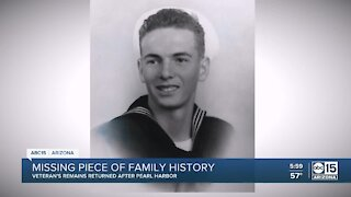 Phoenix sailor killed in Pearl Harbor attack will return home nearly 80 years later