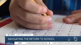 Navigating the return to school