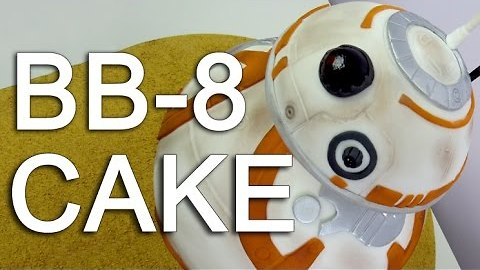 How to make a Star Wars BB-8 cake