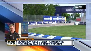 Detroit Grand Prix Tickets on Sale - Video