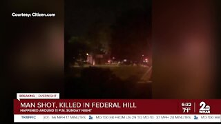Man shot, killed in Federal Hill
