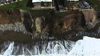 California City Moves to Demolish Apartments Dangling on Cliff Edge - Video