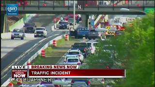 2 accidents cause massive backups on I-43