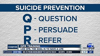 QPR, like CPR, has a goal of saving lives