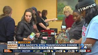 Bea Gaddy's 37th annual Thanksgiving dinner