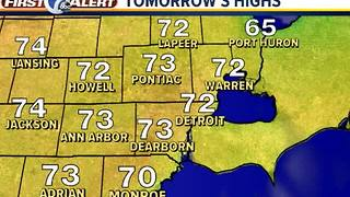 40s for lows tonight - Video