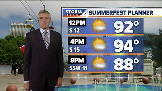 Excessive Heat Warning issued Saturday