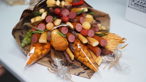 These Bouquets Are Made With Meat, Cheese, and Crayfish