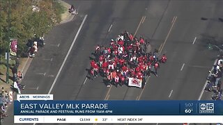 Annual parade and festival on Martin Luther King Jr. Day