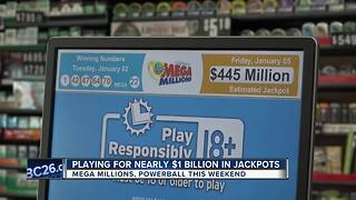 Jackpot continues to grow - Video