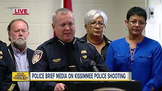 News Conference: 2 Kissimmee officers shot in the line of duty - Video