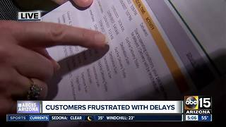 Valley woman frustrated with delayed package deliveries - Video