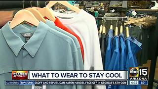 What to wear to stay cool - Video