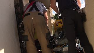 Behind the scenes of a medical call with Charlotte County Fire & EMS - Video