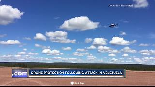 Drone protection following attempted assassination of Venezuelan president