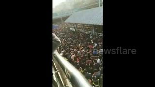Tightened security heaps misery on Beijing commuters - Video