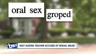 East Aurora teacher accused of sexual abuse under Child Victims Act
