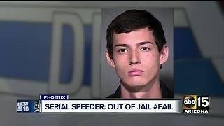 Accused serial speeder says charges dropped, DPS says no - Video