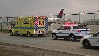 HAZMAT situation at Cleveland Hopkins