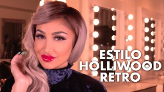 Maquillaje Estilo Hollywood-Retro - Video