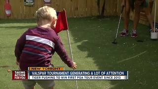Golf tournament brings people Pinellas County - Video