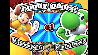 Mario Party Funny clips #1 with Princesswoop!