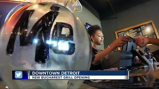 Bucharest Grill to open 5th location, return to downtown Detroit - Video