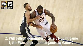 2018 NBA Finals Game 3 predictions - ABC15 Sports - Video