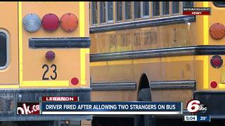 Bus driver fired after pulling over and allowing strangers on Lebanon school bus