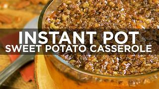 Instant Pot Sweet Potato Casserole - Video